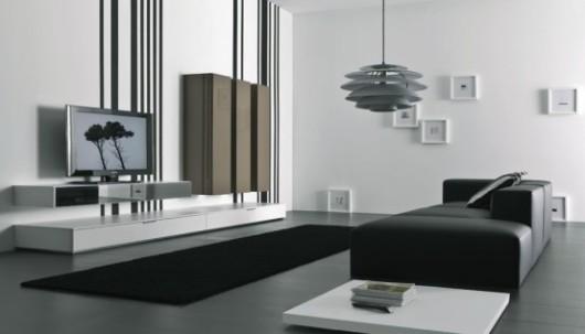 modern lacquered tv cabinet spazio box insieme furniture 2