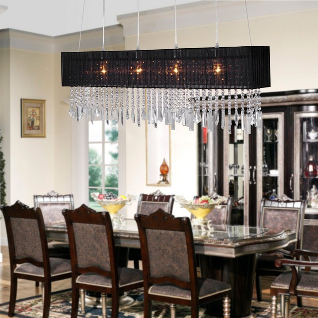 Ave Designs The Best Rectangular Chandelier Ideas For Christmas Table