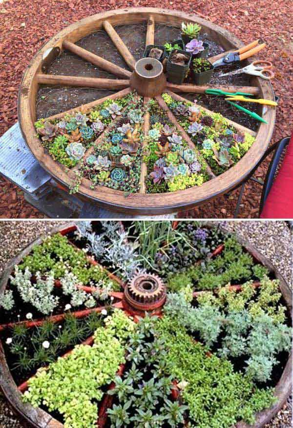 Above Ground Garden Wheels