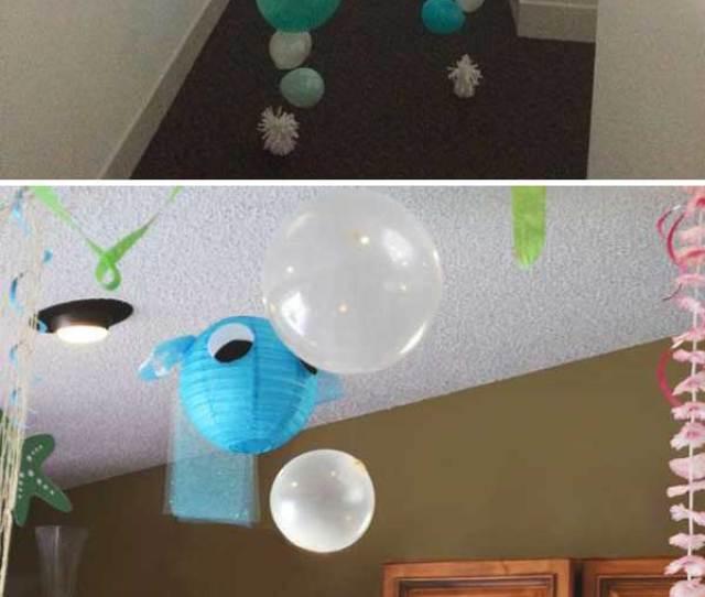 Create Bubble Balloon Strands For Underwater Theme Decor