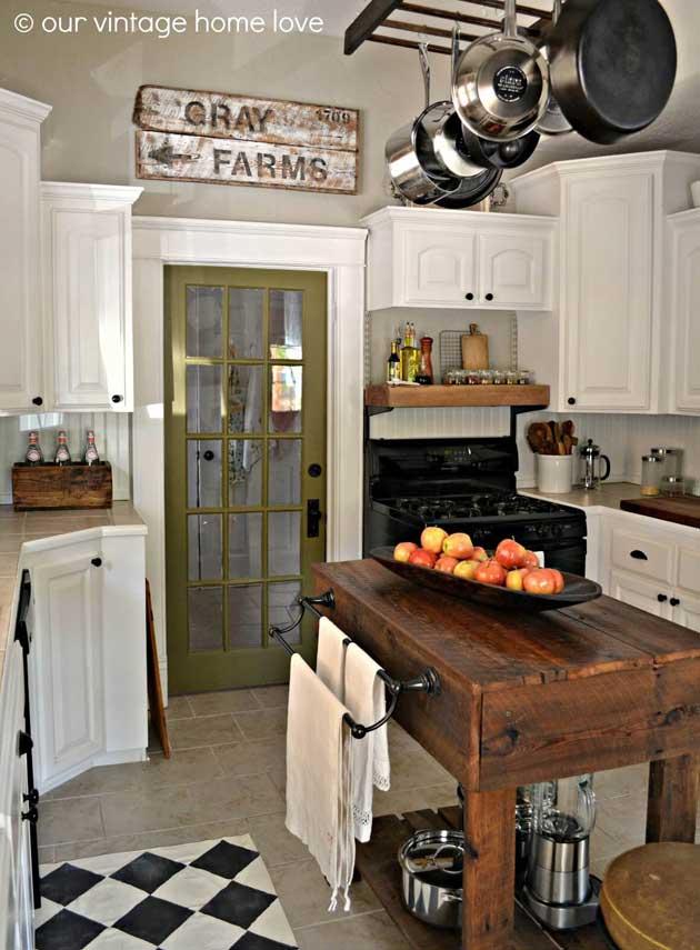 Top 29 DIY Ideas Adding Rustic Farmhouse Feels To Kitchen ...