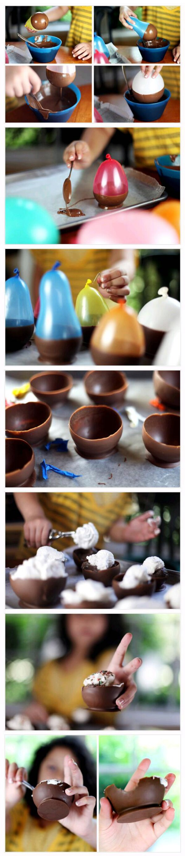How to Make a Chocalate Bowl