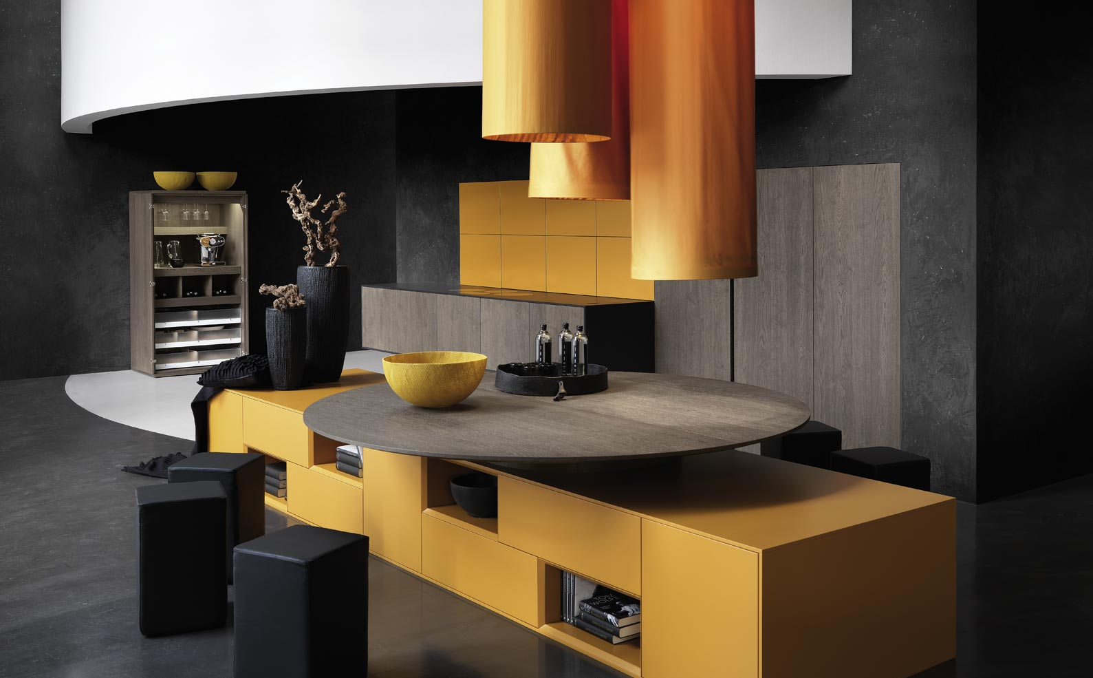 Matching Modern Kitchen Designs From Rational Interior
