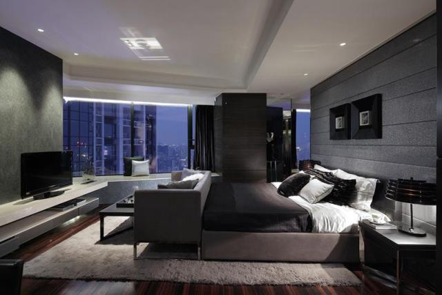 25 Dark Master Bedroom Designs Perfect for Snoozing - Page ...