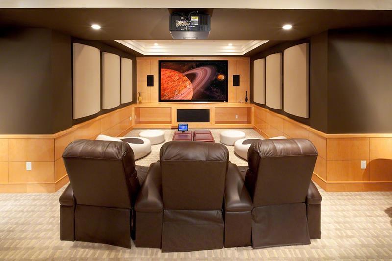 Television Dark Room
