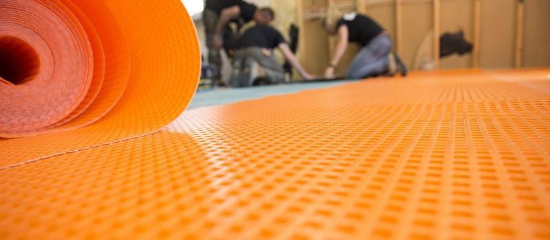 schluter ditra underlayment for tile
