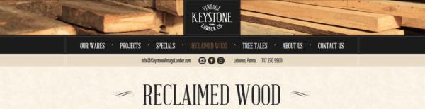 Keystone Vintage Lumber