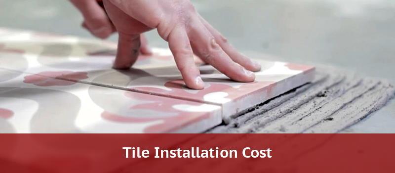 tile floor installation cost