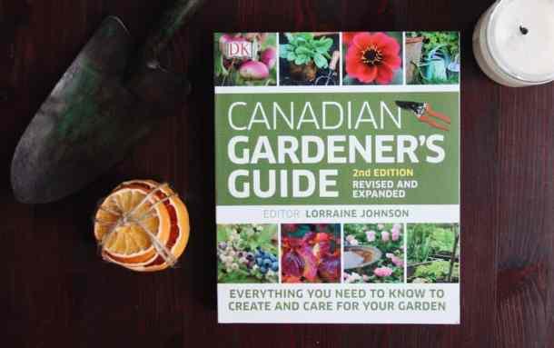 Canadian Gardener's Guide Book | List of Gardening Books - The Best Ones! | from Home for the Harvest | www.homefortheharvest.com
