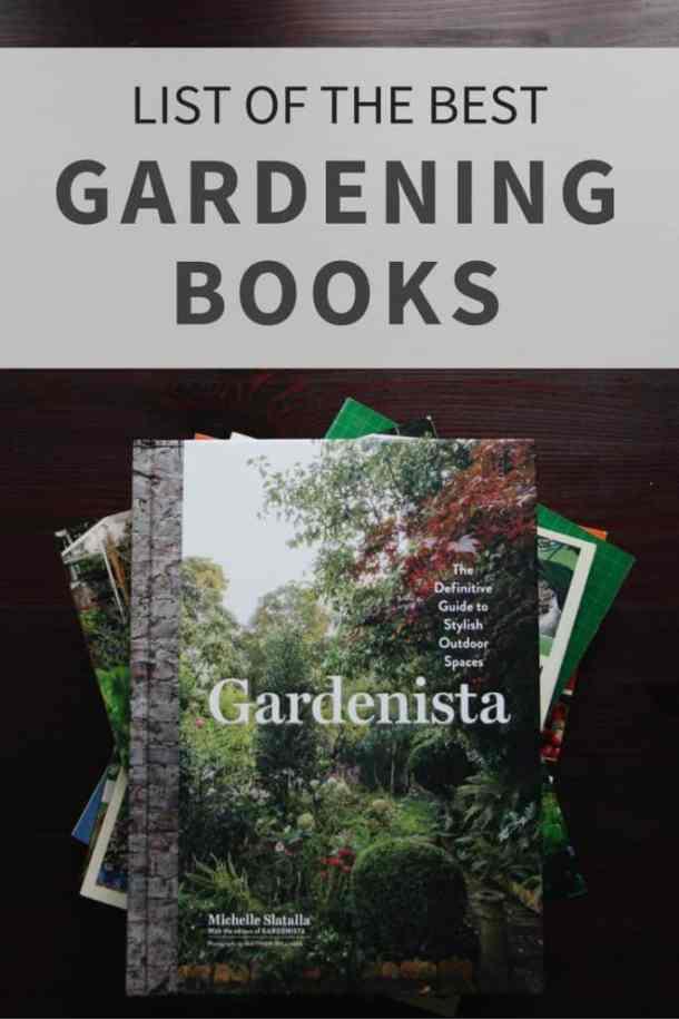 List of Gardening Books | The Best Books for an Organic Gardener | from Home for the Harvest | www.homefortheharvest.com