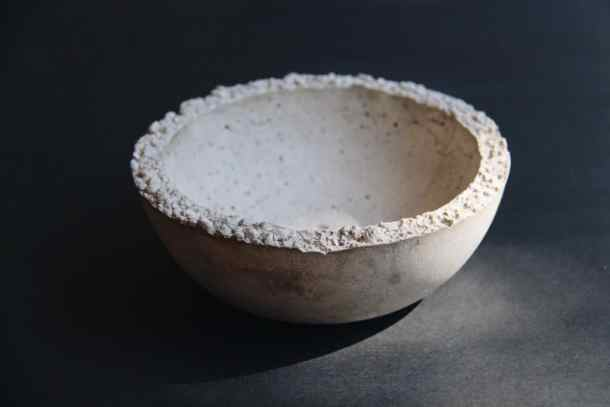 Simple Concrete Bowl | Home for the Harvest