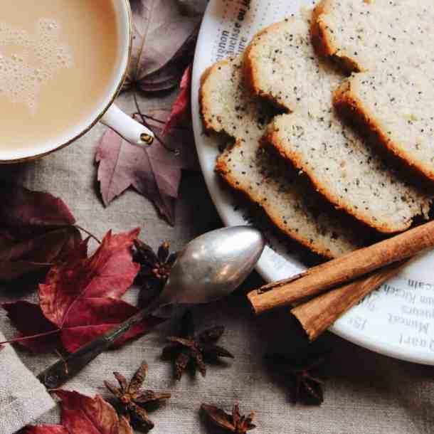 Gluten-Free Lemon Poppy Seed Loaf Recipe | Home for the Harvest | www.homefortheharvest.com