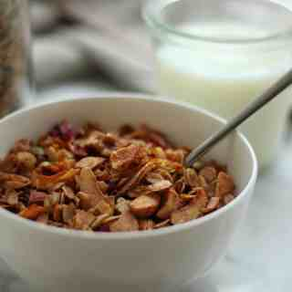 Organic Gluten-Free Granola | Home for the Harvest