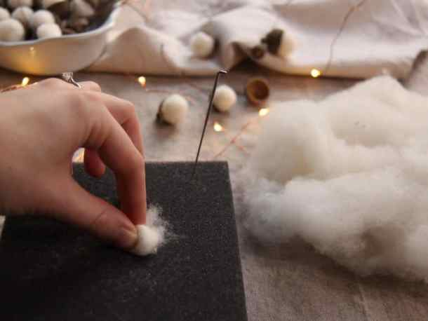 How to Make Felted Acorns | Home for the Harvest