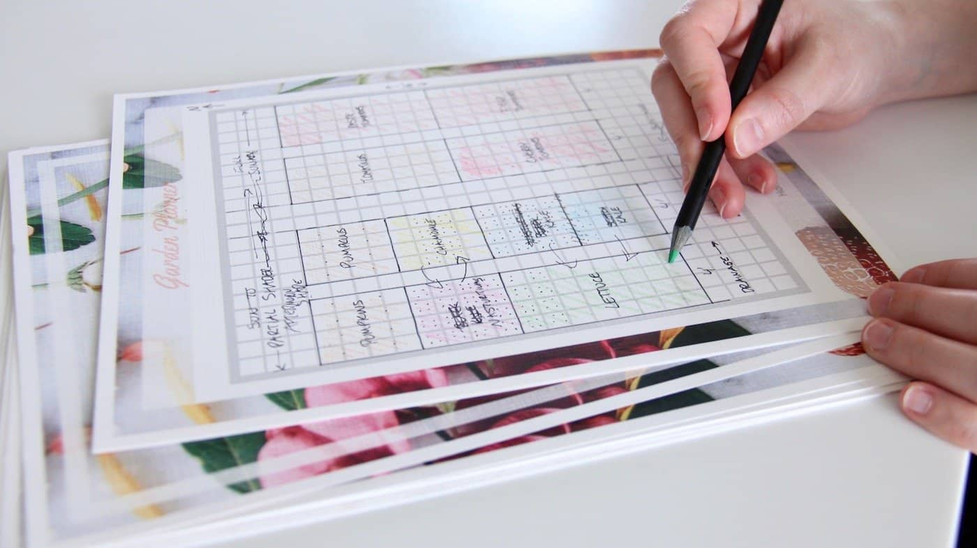 Garden Planning Tutorial   How To Draw A Garden Layout Map | Home For The  Harvest