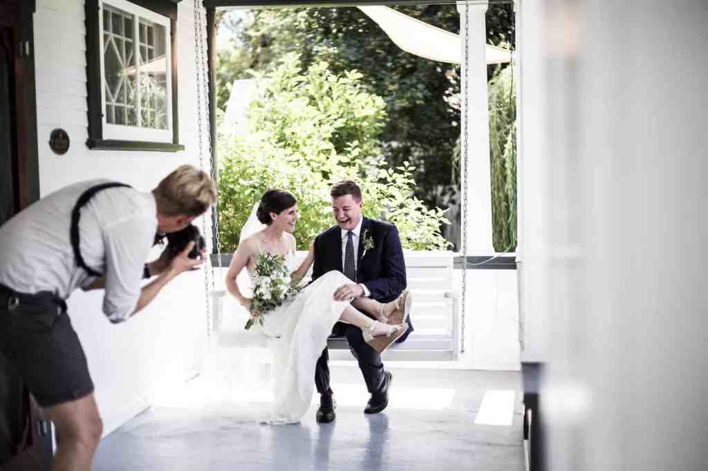 Garden Wedding Photography - Lightwell Photo | Home for the Harvest