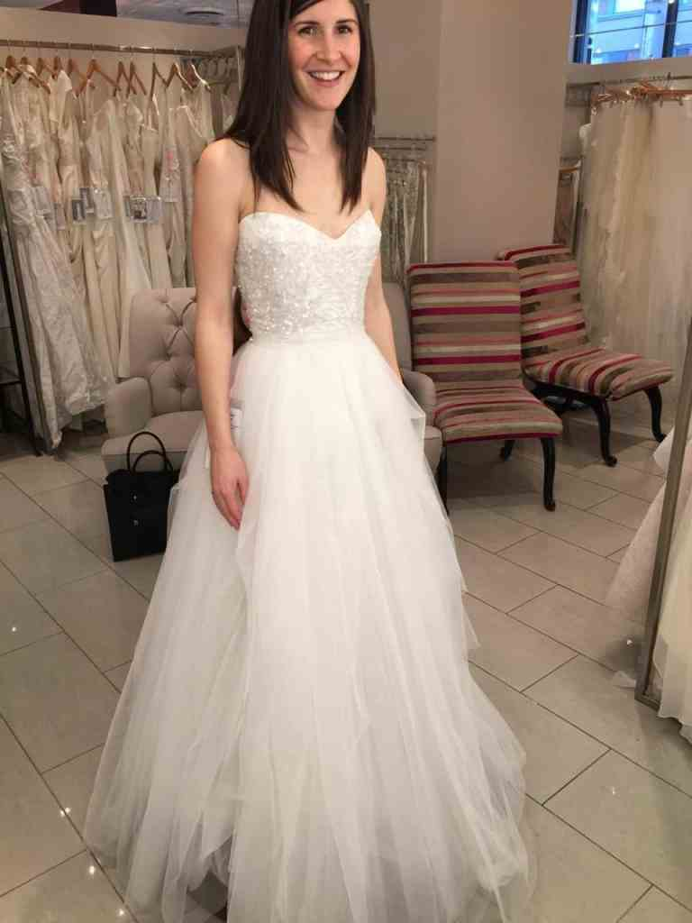 Trying on Wedding Dresses | Home for the Harvest