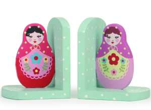 Russian Doll bookends and hooks