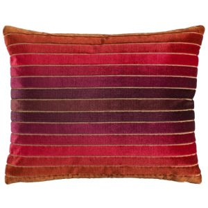 Sanderson Velluti stripe cushion