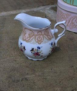 Vintage china milk jug