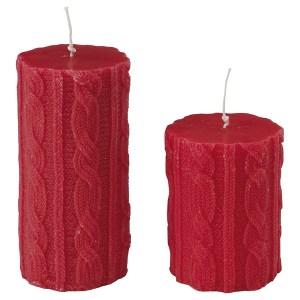 Bargain alert: John Lewis knit effect candle