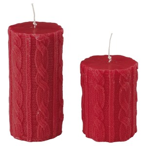 Bargain alert: John Lewis knit effect candle