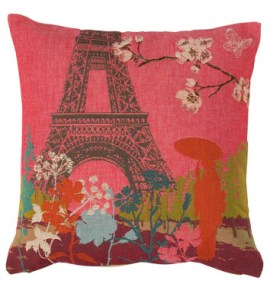 Striking Conran Paris Tokyo cushion