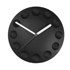 Essential kitchen accessories: Magnetic rubber fridge clock