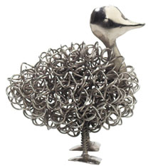 Unusual home accessories: Wiggle Duck by Garth Williams