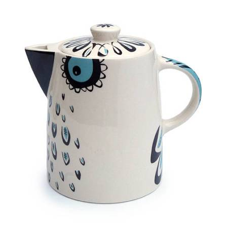 Super quirky owl design teapot by Hannah Turner Ceramics