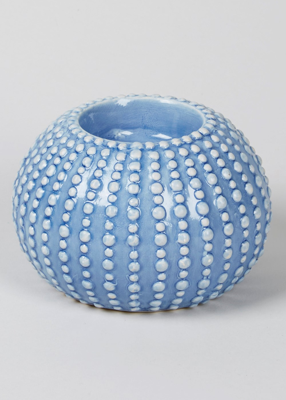 Gorgeous sea urchin design tea light holder
