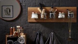 How to create a stylish organiser for your bathroom