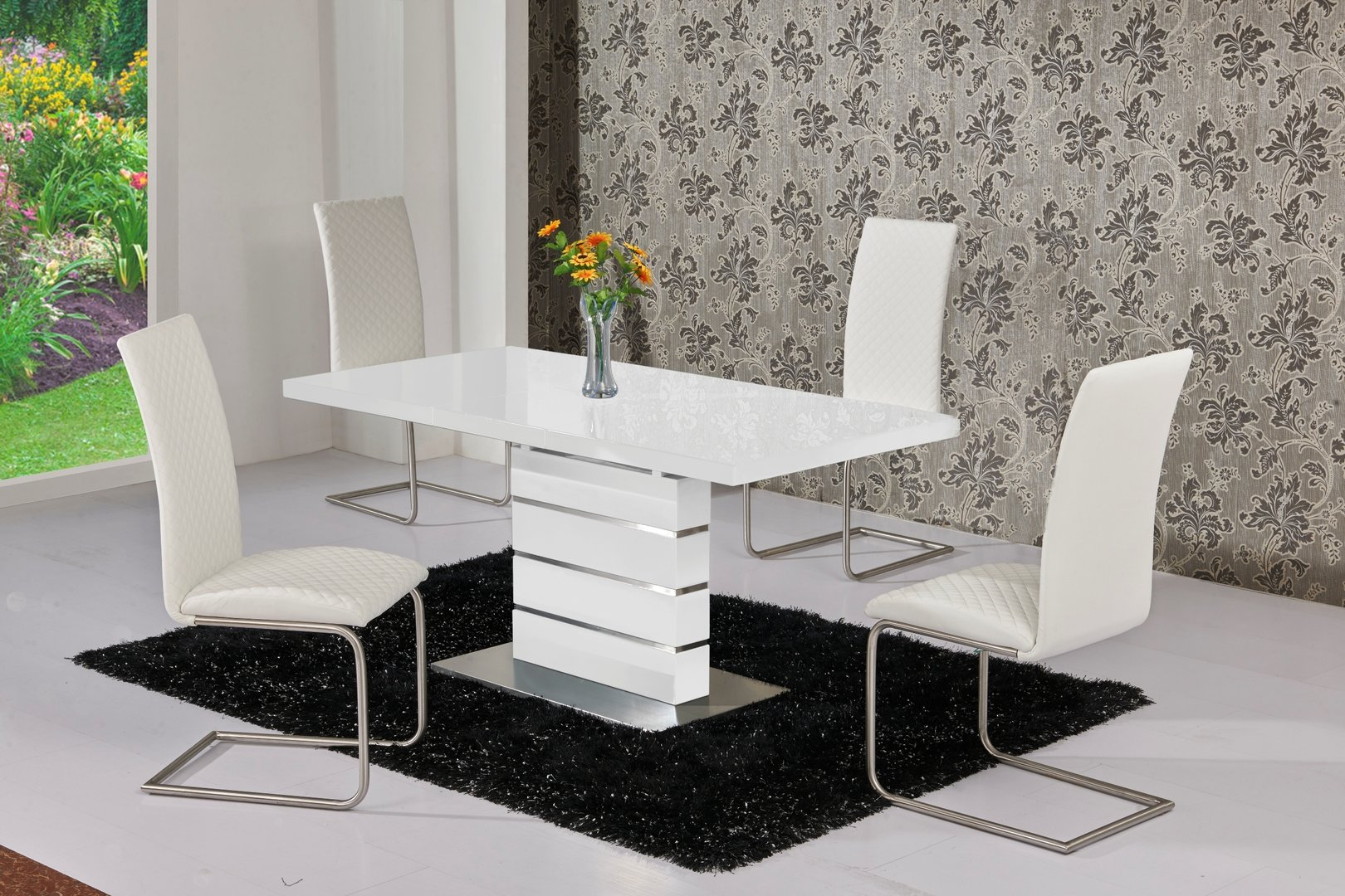 And High Table Chairs Set Dining