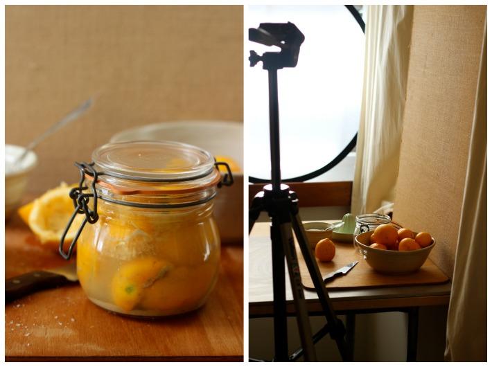 Presreved Lemon Photo Shoot / Homegrown Kitchen