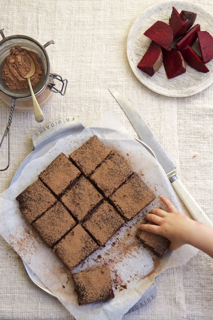 BEETROOT CHOCOLATE BROWNIE | Homegrown Kitchen