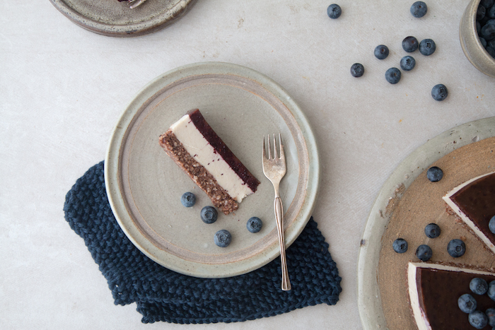 Magical Blueberry Jelly Cake | HOMEGROWN KITCHEN