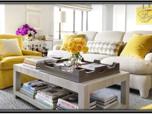 yellow in the interiors of your home