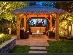 TV in your outdoor area