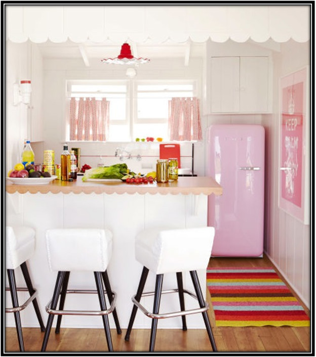 Colorful Appliances Home Decor Ideas