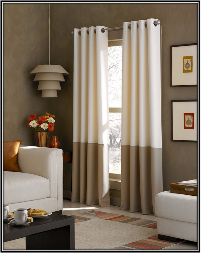 Lined Groomet Curtain Home Decor Ideas