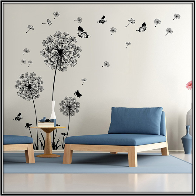 Removable Wall Sticker Home Decor Ideas