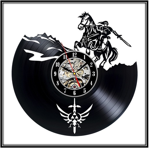 Zelda Design Wall Clock for your homes in the best way - home decor ideas