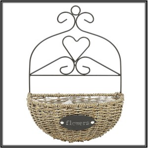 Wall Hanging Flower Basket Outdoor Living Space Ideas Home Decor Ideas