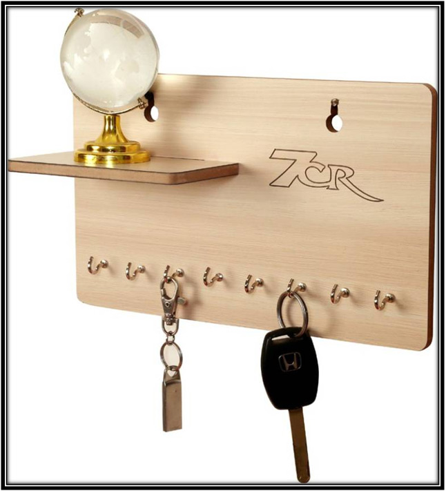 Wooden Key Holder Home Decor Ideas