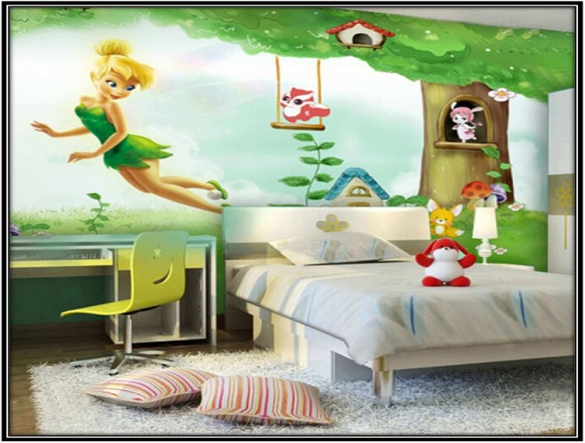 Affordable fairytale girl's bedroom decorating ideas