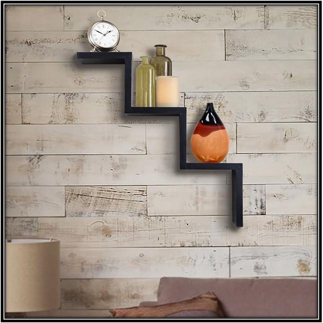 Ladder Shaped Wall Shelf Home Decor Ideas