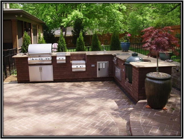 Outdoor Kitchen Decor Ideas Home Decor Ideas