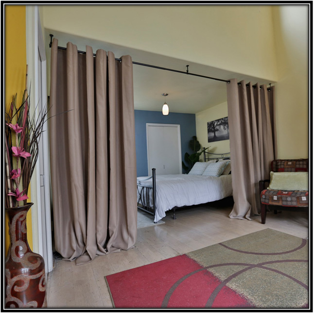 Room Divider Curtains Home Decor Ideas