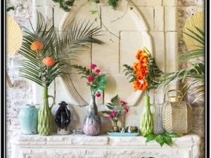 Vase And Flowering Home Ware Decorative Items Home Decor Ideas