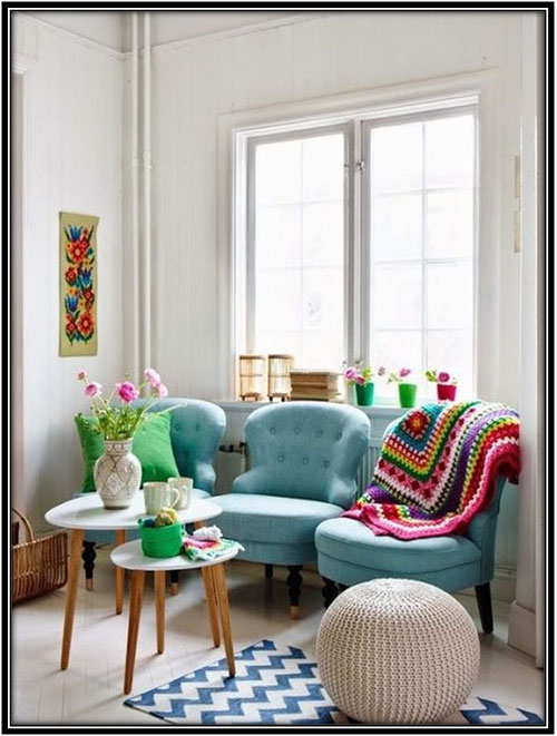 Bring In The Colors Reading Corner Space Ideas